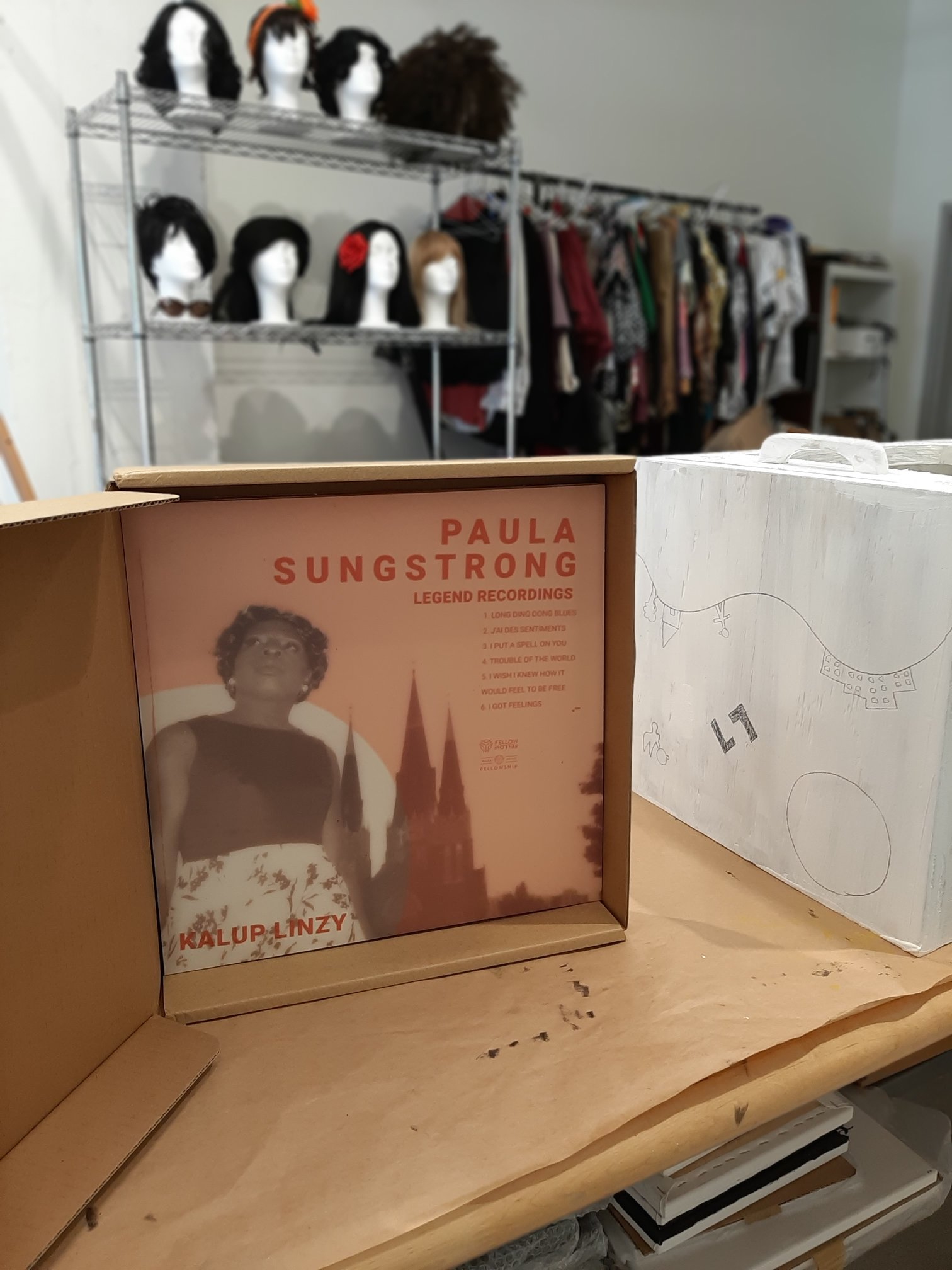 Kalup Linzy Paula Sungstrong Legend Recordings vinyl record
