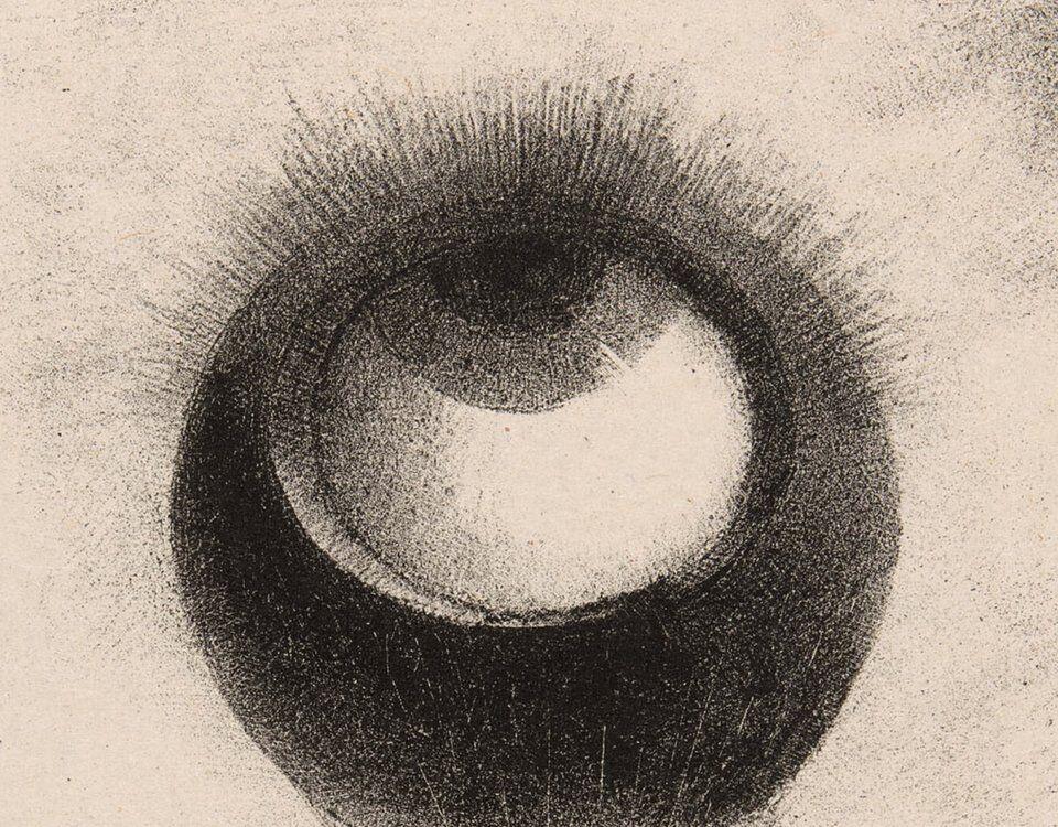 Lithograph Odilon Redon