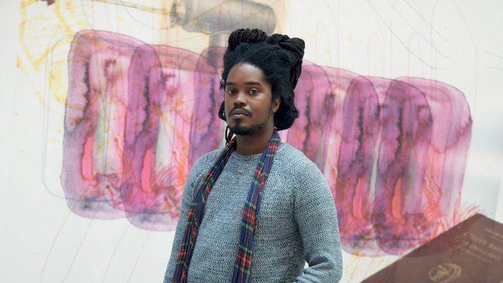artist Julien Creuzet portrait