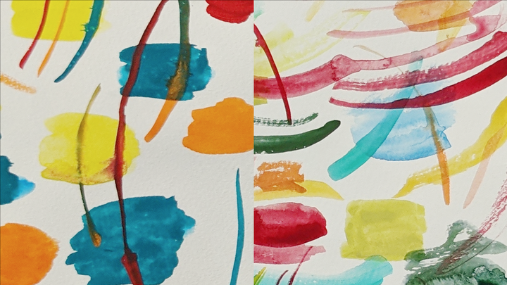 Watercolor Gouache paint