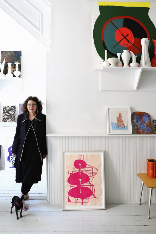 artist Joanne Greenbaum portrait