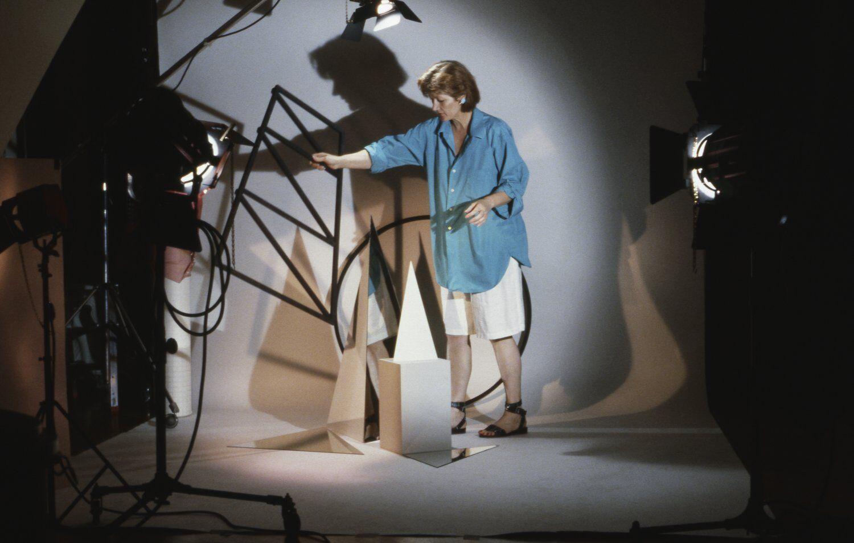 Barbara Kasten Portrait Studio