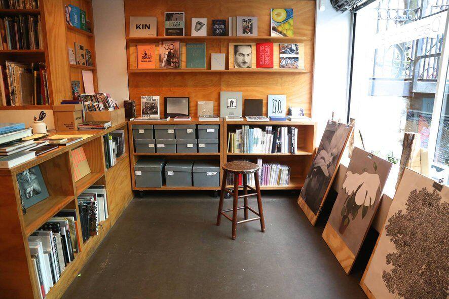 dashwood books store interior