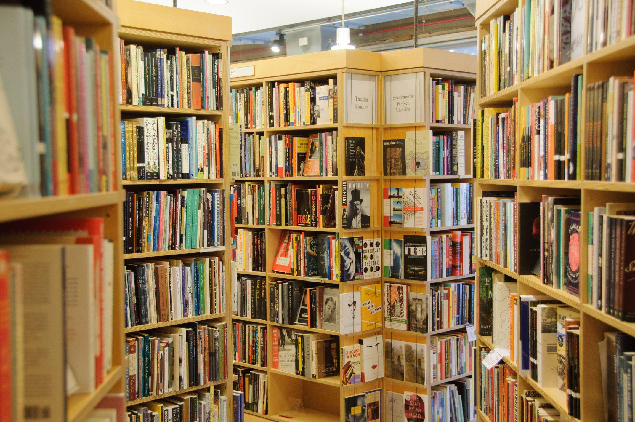 Seminary Co-op Bookstores interior