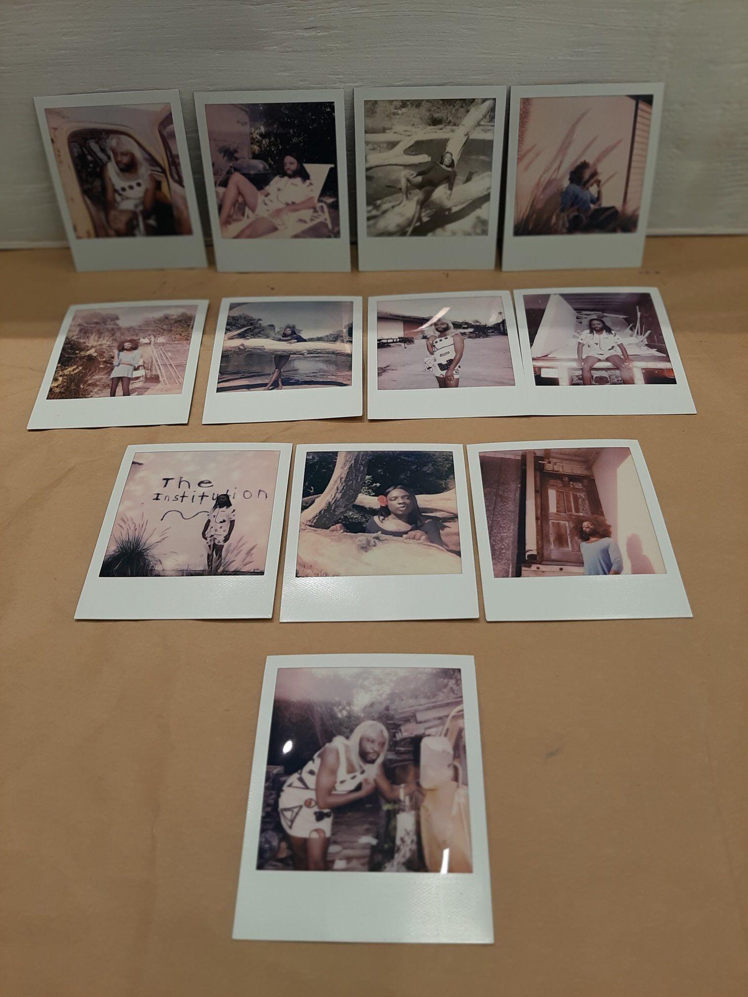 artist Kalup Linzy studio Polaroids