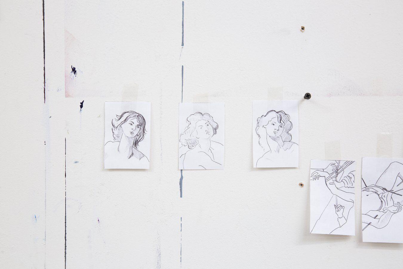 Jesse Mockrin drawings