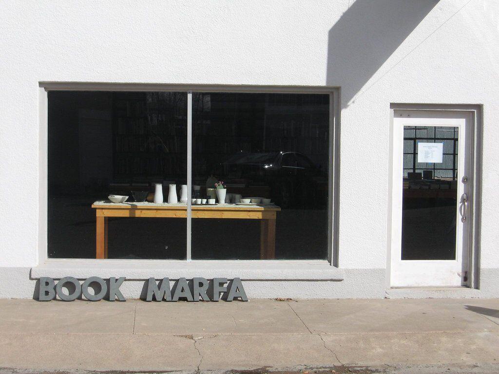 Marfa Books storefront
