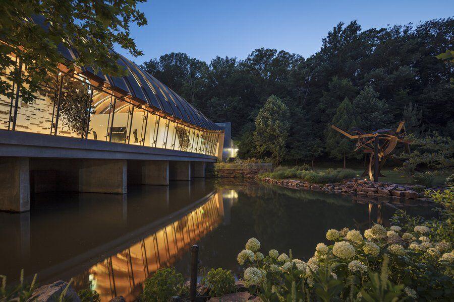 Crystal Bridges Museum exterior