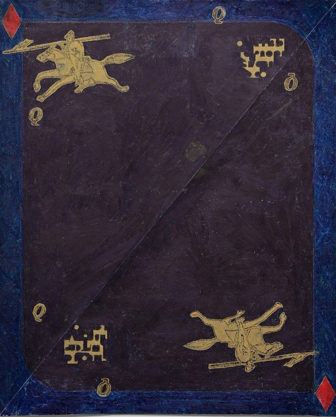 toru otani blue knight queen of diamonds