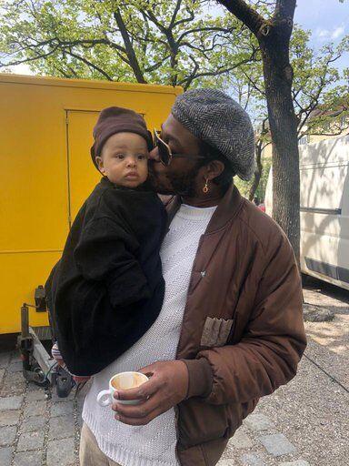 artist Curtis Santiago Father's Day