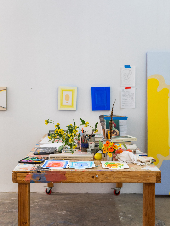 Lily Stockman Studio Installation
