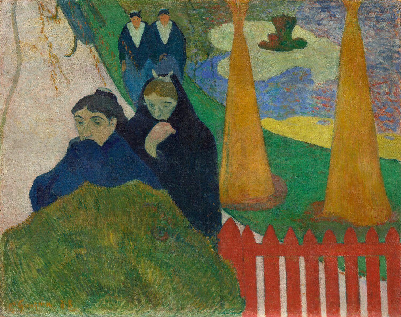 Paul Gaugin Arlésiennes (Mistral) painting 1888