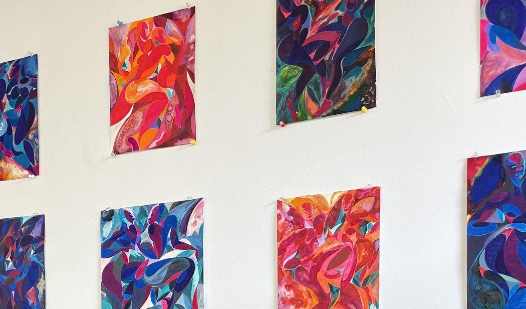Tunji Adeniyi-Jones paintings