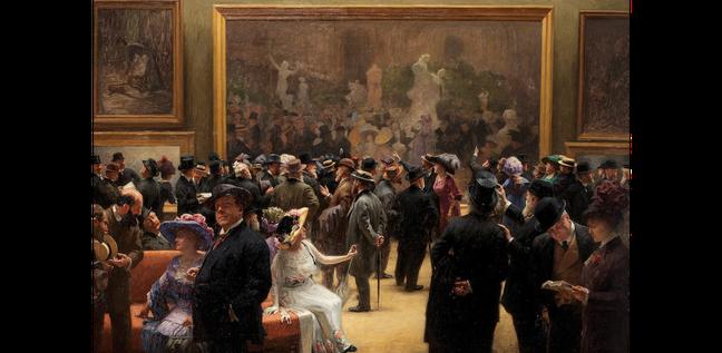 HENRI ADOLPHE LAISSEMENT Au Salon des Artistes Français en 1911